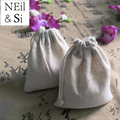 8*10cm Drawstring Jute Bag Grocery Gift Packaging Pouch for Wedding Favor Sachet storage Handmade Soap Bags Free Shipping