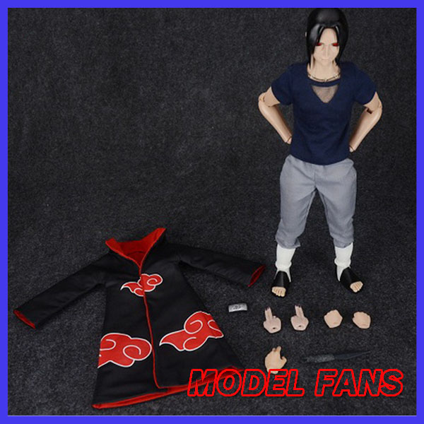MODEL FANS NARUTO 30cm height 1/6 Akatsuki Uchiha Itachi action figure toy for Collection model fans naruto 30cm height 1 6 akatsuki pain action figure toy for collection