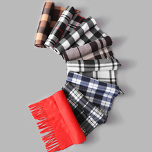 2018 New Trend Autumn And Winter Models Fleece Scarf Men Women Commuter Big Shawl Fashion Classic Business