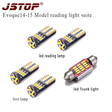 JSTOP 5piece set high quality led car T10 reading bulbs w5w t10 led 6000K c5w 36mm