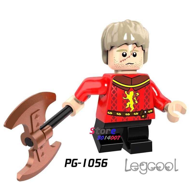 1PCS blocos de construção do modelo de ação superhero guerra Tyrion Lannister Game of Thrones Gelo e Fogo diy brinquedos para crianças presente