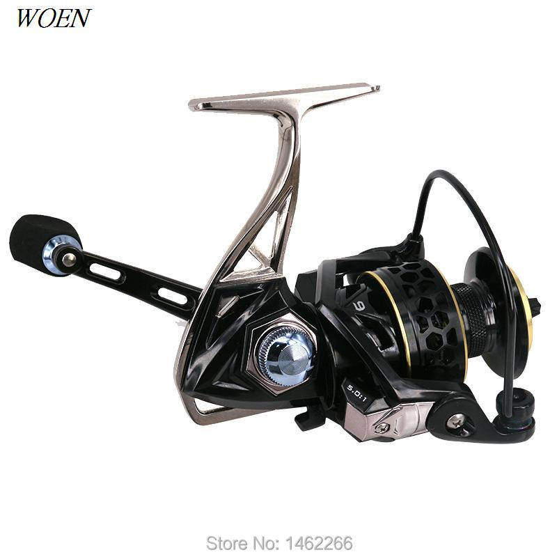 Woen New Gts2000 6000 Fishing Reel All Metal Main Body Anti Seawater 9bb Spinning Wheel