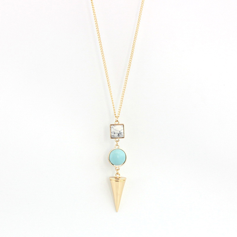 Simple Modern Women Girls Delicate Layering Gold Chain Design ...