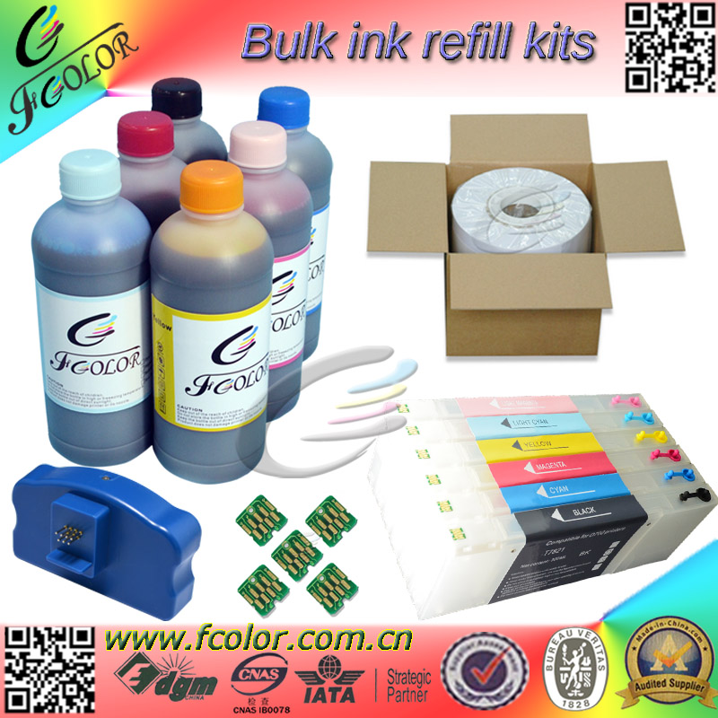 Special <font><b>Ink</b></font> Refill Kits for <font><b>Epson</b></font> <font><b>D700</b></font> <font><b>Ink</b></font> Cartridge UV Dye <font><b>ink</b></font> Photo Paper One-Stop Suppor image