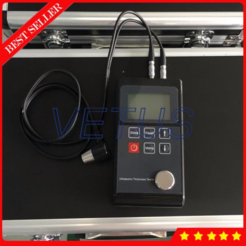 Leeb321 Portable thickness measurement 0 7 300mm font b Digital b font Meter Ultrasonic Thickness Gauge