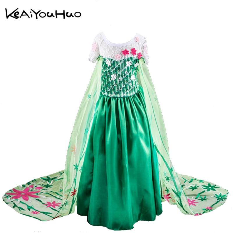 keaiyouhuo vestidos para nias ao nuevo disfraces de navidad para nios lindo elsa anna vestido de fiesta vestidos bebs traje