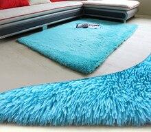 2017 living room carpet big size mat long hair bedroom tea table 140*200cm morden MAT005 Home textile