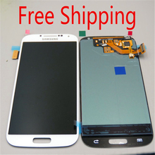 High Quality White LCD Display + Digitizer Touch Screen Glass Replacement Assembly for  S4 IV I9500 I9505 I337 N919