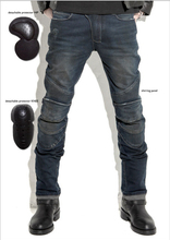 Hot sales 2015 New uglyBROS Featherbed jeans The standard version car ride jeans trousers Motorcycle jeans Drop the jeans