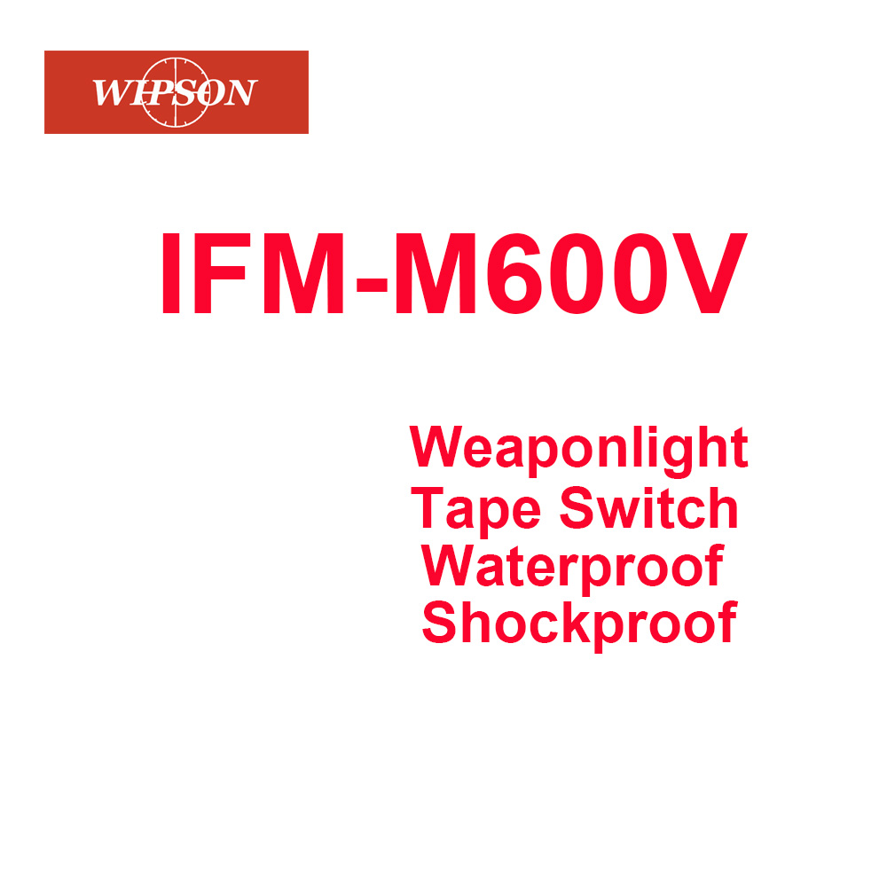 WIPSON Tactical Airsoft M600V Dual Output LED SCOUT Light Gun Weapon Light Outdoor Hunting Rifle Flashlight
