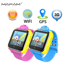 Wifi 3G Smart Watch Q730 Children GPRS GPS Tracker Locator kids Smartwatch child SOS baby Touch Watch Camera for IOS Android