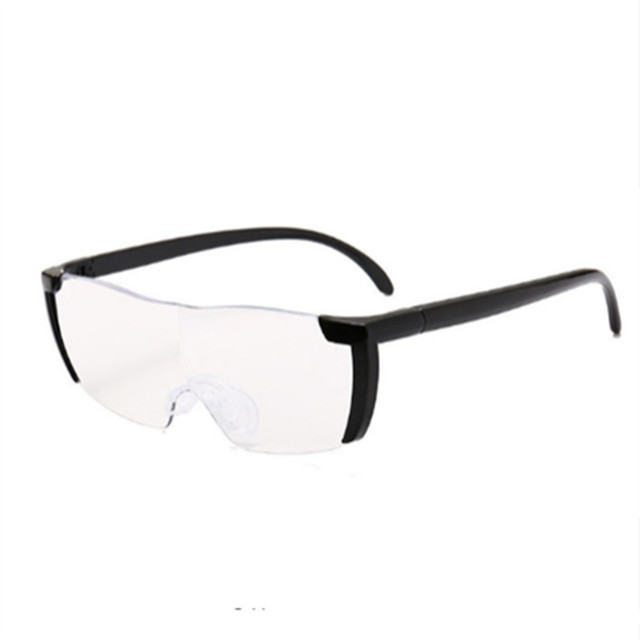 Magnifier Eyewear 1.6 times Magnifying Glass Reading Glasses Big Vision 250% Magnification Presbyopic Glasses