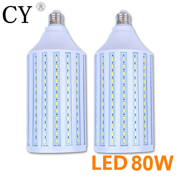 LightupFoto 2pcs E27 220v Photo Studio Bulb 80W 5730 SMD LED Video Light Corn Lamp Bulb & Tubes Photographic Lighting