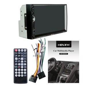 Image 5 - 888 2 Din 12V samochód wielofunkcyjny radio, ekran dotykowy, 7 cal samochód MP5 odtwarzacz dla Apple telefon z systemem android połączenie