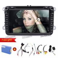 2 Din 8 Inch Quad Core Android Car Dvd For Vw Passat B6 Mirror Link Wifi