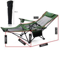 Outdoor opvouwbare Draagbare Klapstoelen Vissen Camping Stoel Seat Oxford Doek Lichtgewicht Seat voor rvs