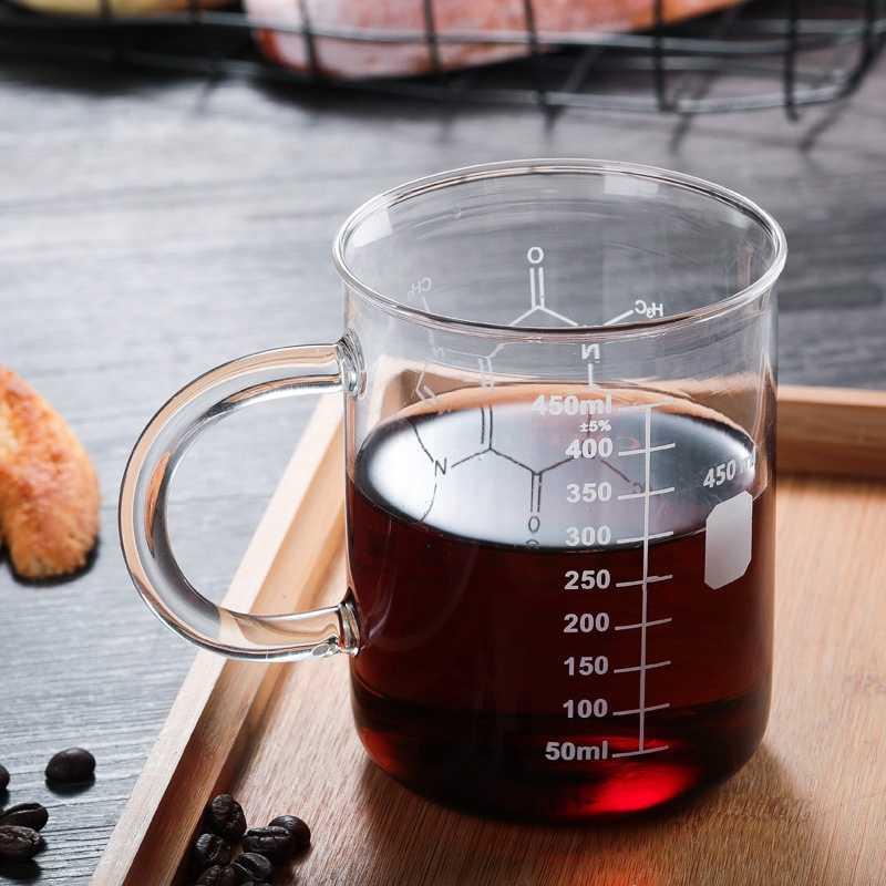 450 Ml di Isolamento Termico A Due Piani di Vetro di Alta Borosilicato Ricettacolo Del Fiore Innovativo Tazza di Tazza di Caffè Doppia Parete Coibentata