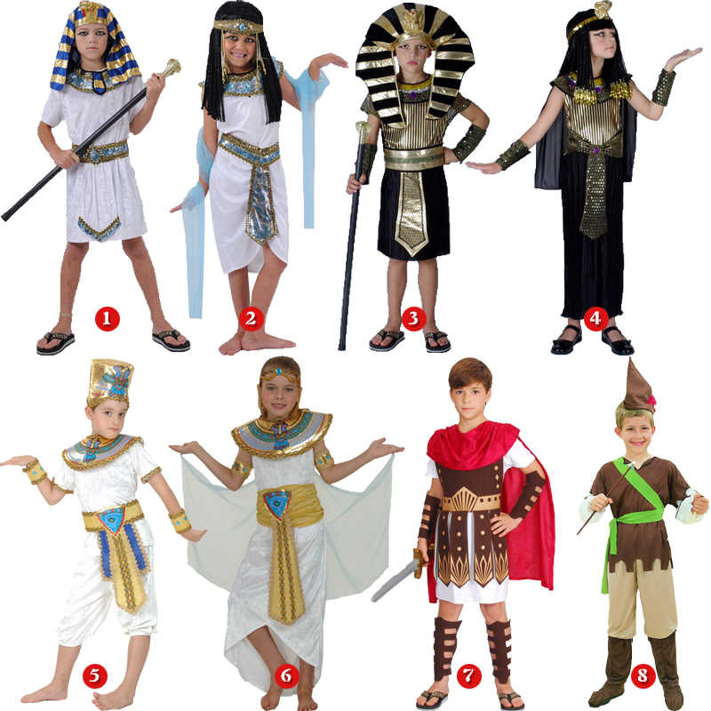 57954782652 Detail Feedback Questions about halloween costume for kids Pharaoh queen egyptian  cleopatra costume girls boys for children ancient egypt fancy dress ...