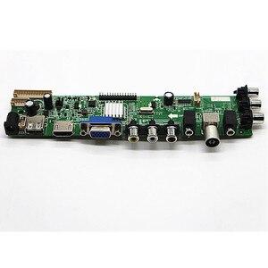 """Image 3 - DVB T2/DVB T/DVB C LCD numérique TV pilote contrôleur carte Kit pour 15.6 """"40 broches LCD B156XW02/LP156WH2/LP156WHB/LP156WH4 1366*768"""