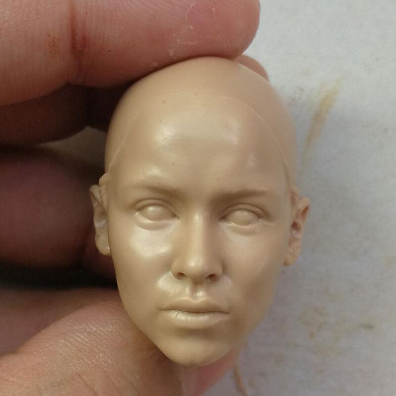 Blank Hot 1/6 Scale Head Sculpt Emilia Clarke GAME OF THRONES Unpainted
