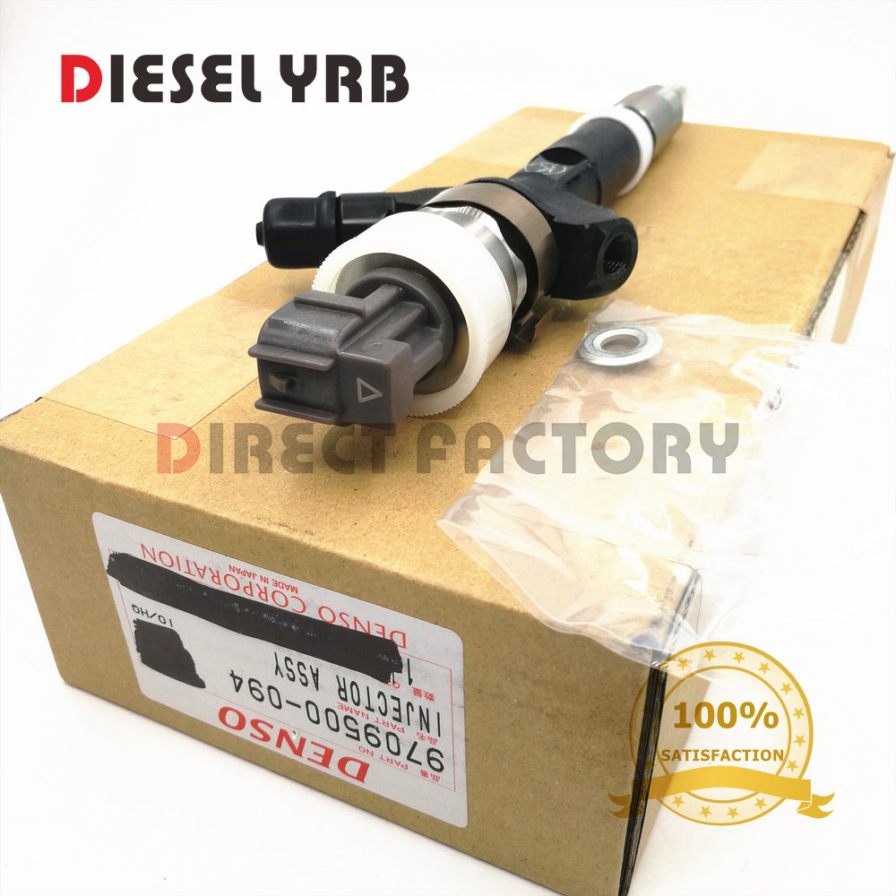Original e nova Common rail injector 23670-30030 23670-30040 23670-39035 23670-39036 095000- 0940 095000-0941