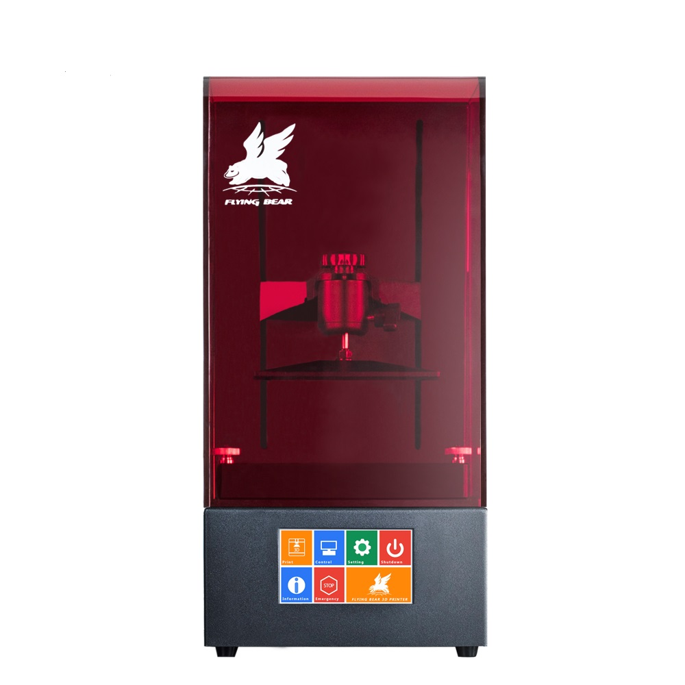 Popular Design Flyingbear Shine UV Resin High Precision LCD DLP 3D Printer with WIFI Function