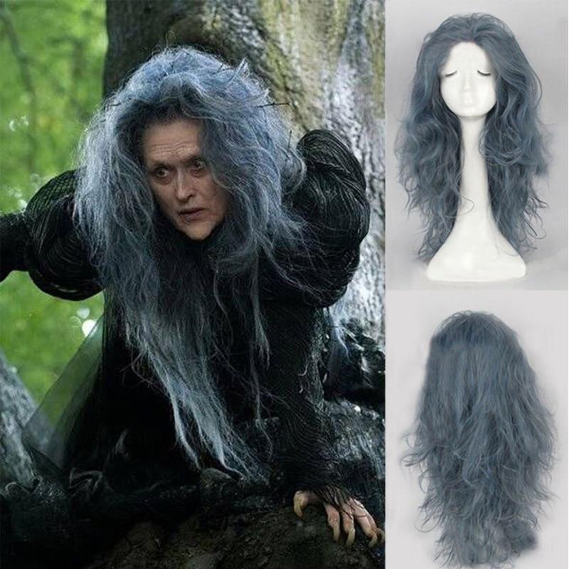 halloween witch white hair free