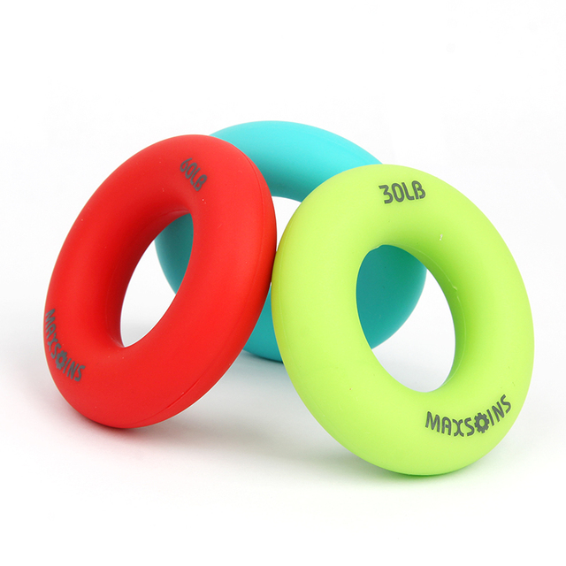 Candy Color Hand Grip Silicone Ring