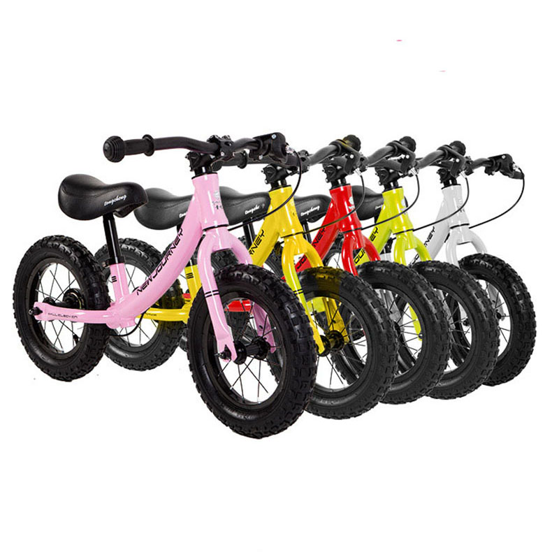 Push Glid Bikes Child Balance Buggy Sliding Toy Bicycle Baby Kid Walker Bike For 2-6 Years Children Pedal-Less 12inch Kid Bike 12 inch balance bike ultralight pedal less balance bike steel kids balance bicycle for 2 6 years old children complete bike