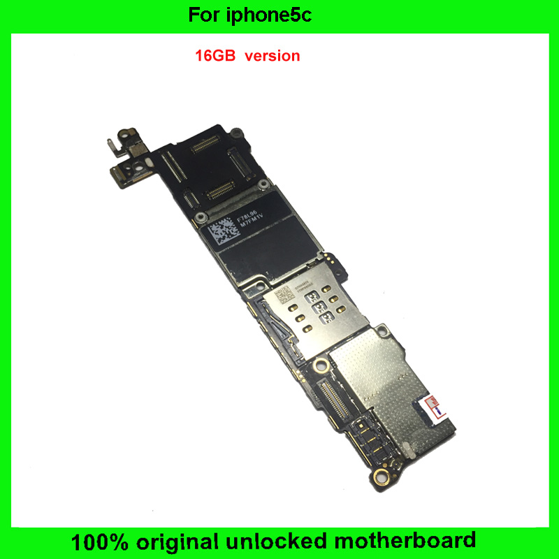 100% Good Working IOS system board 16GB Unlocked Motherboard with Chips Completely Original Mainboard For iphone 5C logic board