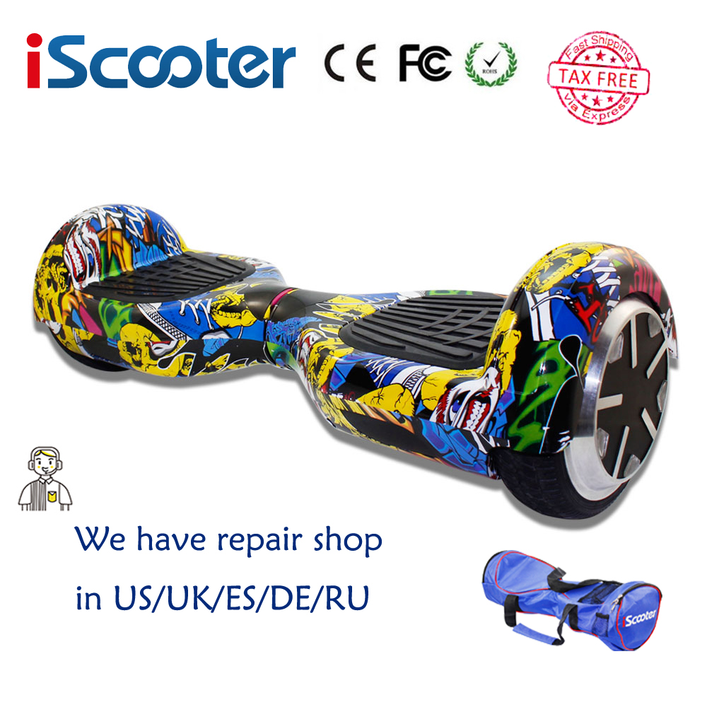 hoverboard free shipping colorful iscooter 2 wheel self. Black Bedroom Furniture Sets. Home Design Ideas