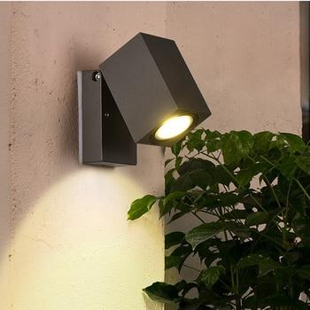 LED outdoor wall lights wholesale head shaking balcony corridor door wall can adjust waterproof courtyard square lamps LM4171121