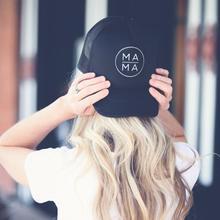 Mama Letters Print Baseball Cap Trucker Hat For Women Men Unisex Mesh Adjustable Size Drop Ship M-170