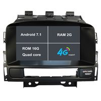 Android 7.1 2G RAM 1024*600 7 Car DVD Player GPS Navigation for Opel Astra J Vauxhall Astra 2010 2011 2012 2013 with Can Bus 4G
