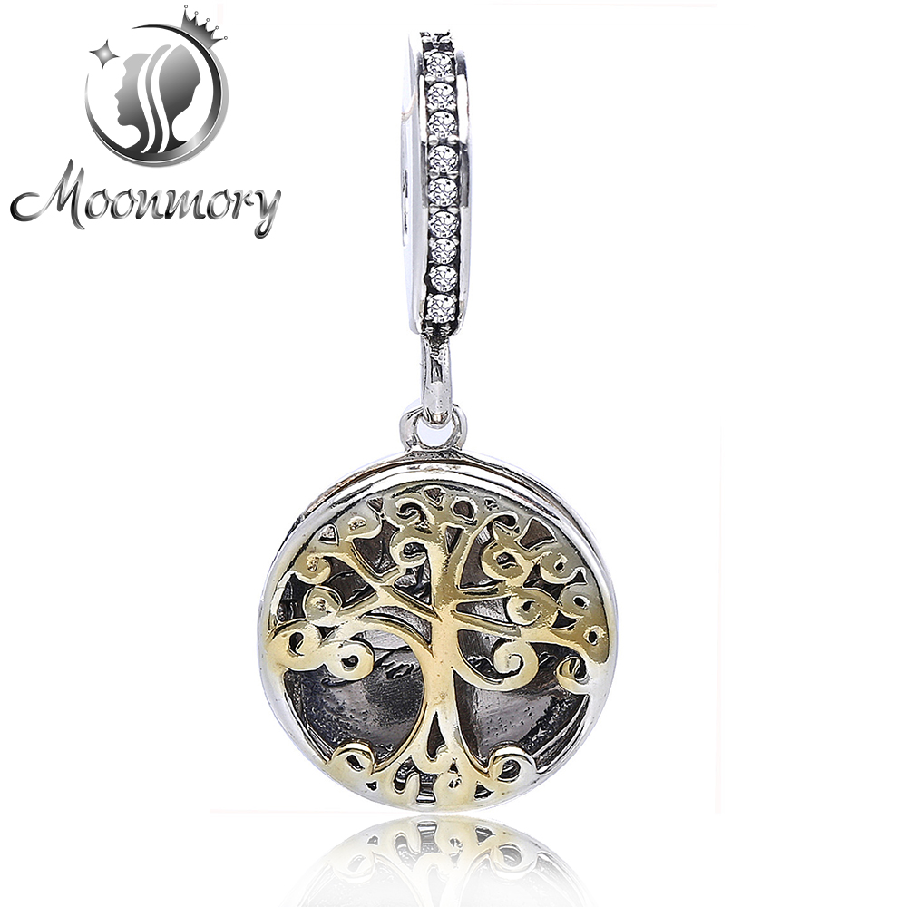 Real 100 925 Sterling Silver Family Roots Vintage Gift Locket Pendant Charm font b Bead b