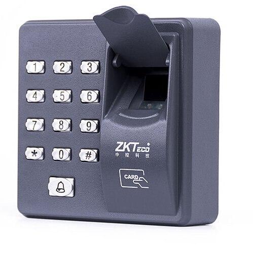 imágenes para Lector de teclado independiente Biométrico de Huellas Digitales para cerradura de La Puerta de intercomunicación de Control de Acceso 125 KHZ X6
