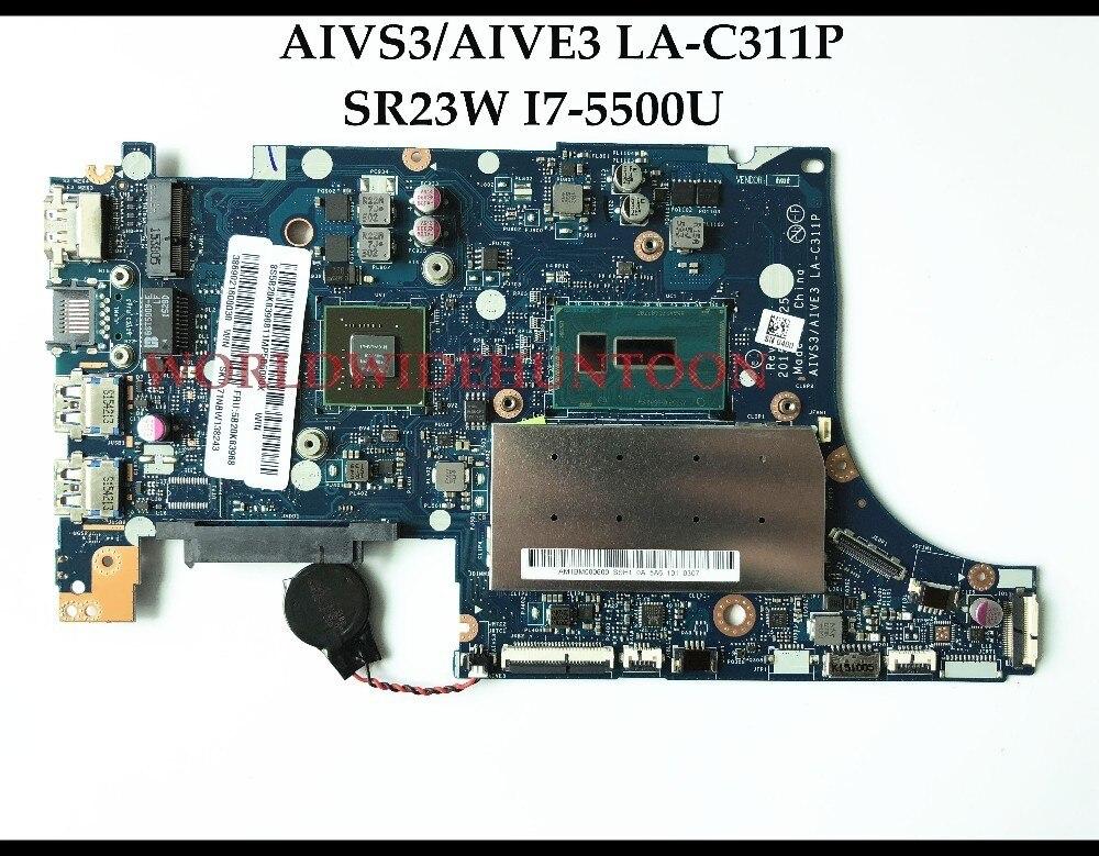 Brand New AIVS3 AIVE3 LA C311P FOR Lenovo U31 70 FRU 5B20K83968 SR23W I7 5500U DDR3L