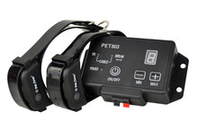 Petrainer PET803-2 Dog Training Fence Shock Collars Portable Electric Pet For 2 Dogs