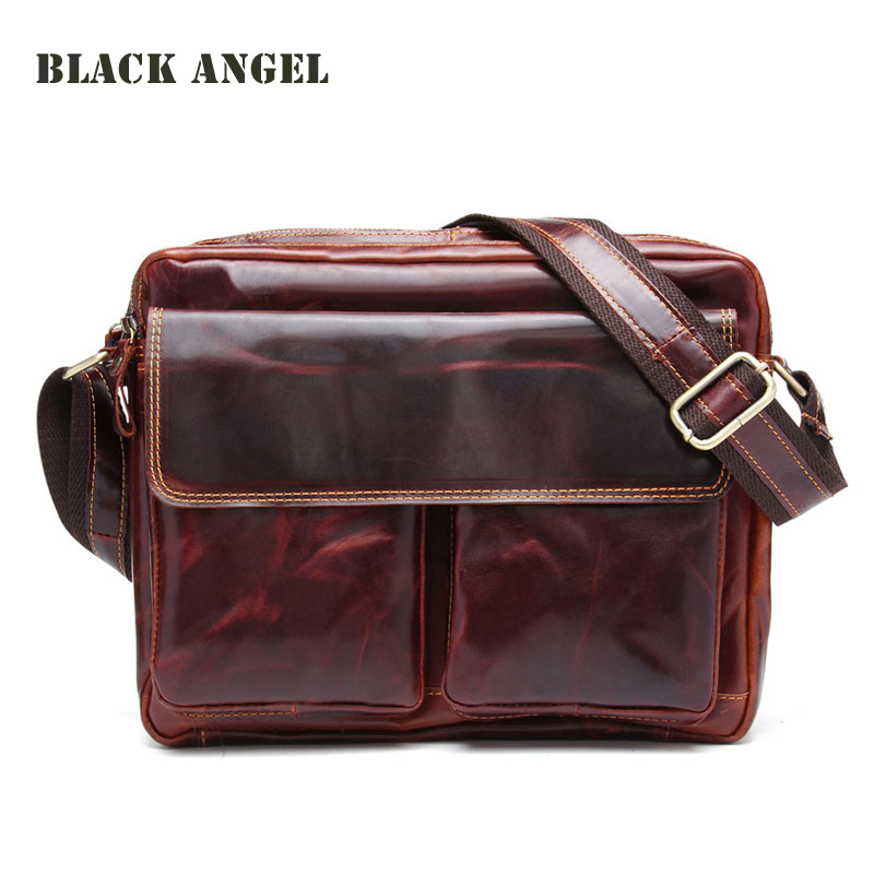 New Genuine Leather men messenger bags casual men cowhide shoulder bag fashion men's leather crossbody bags Y9231 2016 new fashion men s messenger bags 100% genuine leather shoulder bags famous brand first layer cowhide crossbody bags