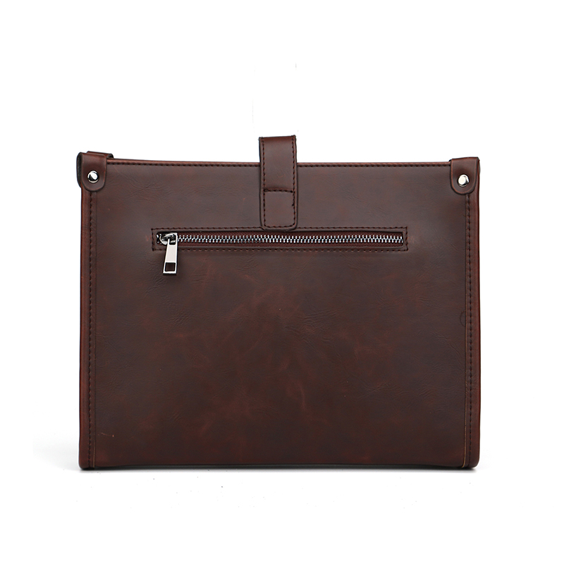 YIZHI2018 Business Men 39 s Briefcase High Quality Buckle PU Leather 10 Inch IPAD Tablet PC Bag Portable Tote in Briefcases from Luggage amp Bags