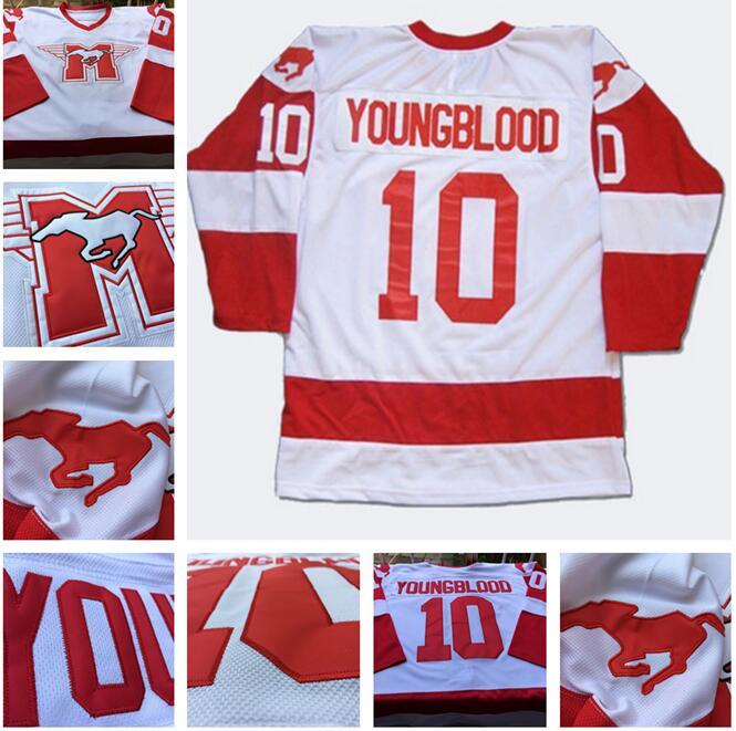 SexeMara Youngblood Rob Lowe 10 MUSTANGS Hockey shirts Jersey size Small S  - 4xl cc6ad7bcf1