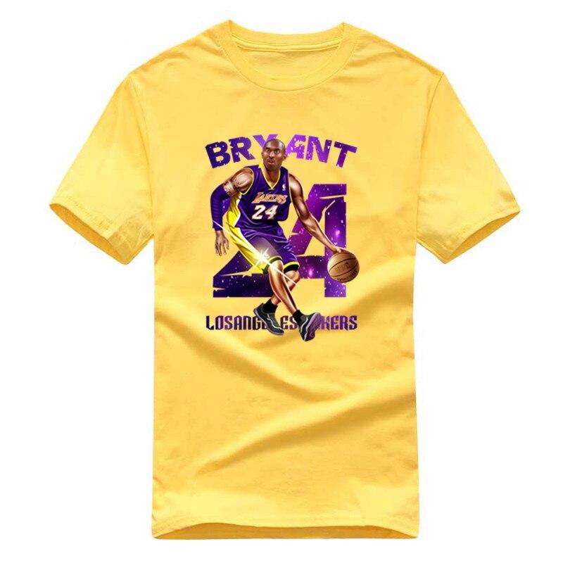 WIPU 2019 Man T Shirt Cartoon Tee Shirt KOBE T Shirt CURRY Harden T-shirt Men Clothing