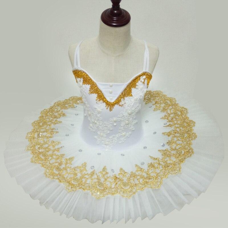 Women's Classical Ballet Tutu for Performance or Competition Professional Ballet Tutu Classic white girls Tutus Ballerina Dress