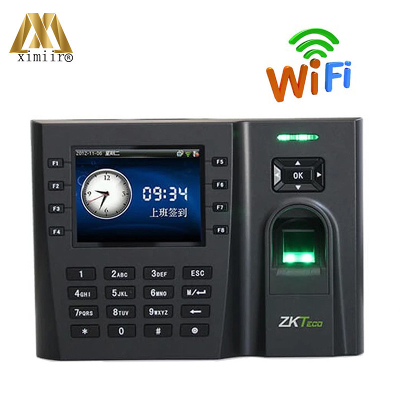 Free Shipping Fingerprint Time Attendance Machine Iclock260 With WIFI Communication Biometrice Time Attendance System