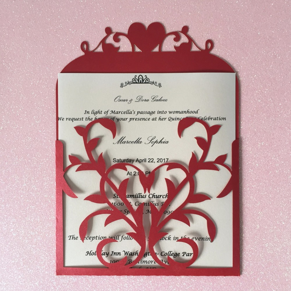 Amazing Philippine Wedding Invitation Photo - Invitations and ...