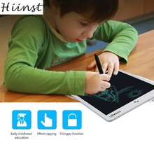 Buy online HIINST MallToy Club 2017 New  10inch  Paperless Memo Pad Tablet Writing Drawing Graphics Board Toys Drop Ship Aug21
