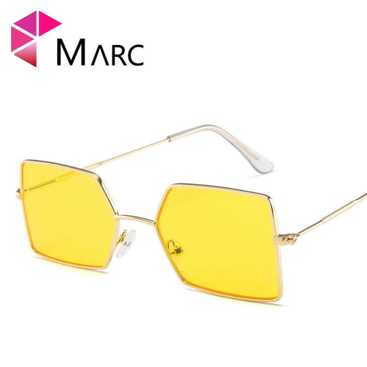 MARC Fashion irregular sunglasses personality marine film men and women wild glasses trend