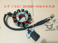 zongshen 150cc motorcycle engine zs150gy 10 magneto coil stator 12V 12 coils accessories free shipping