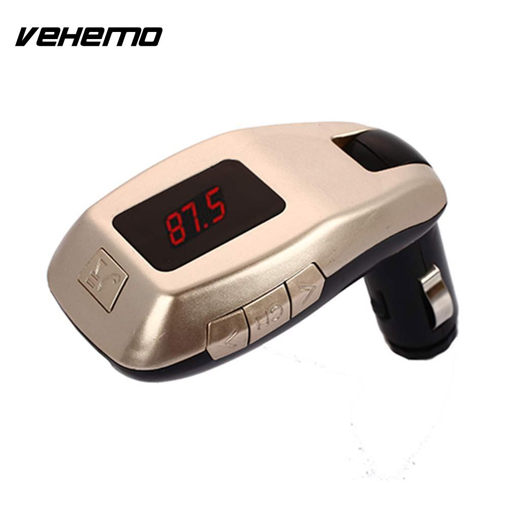Vehemo LED Digital Display 2.1+EDR Bluetooth Audio Receiver Wireless Bluetooth Receiver FM Bluetooth Receiver AUX Stereo