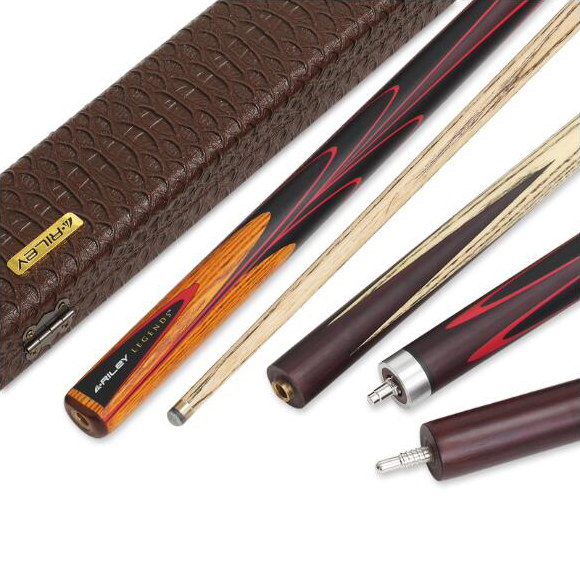 RILEY RLG-4P(5P) Snooker Cue Handmade 3/4 Piece Snooker Kit with RILEY Case with Professional Extension 10mm Tip Billiard Cue цена